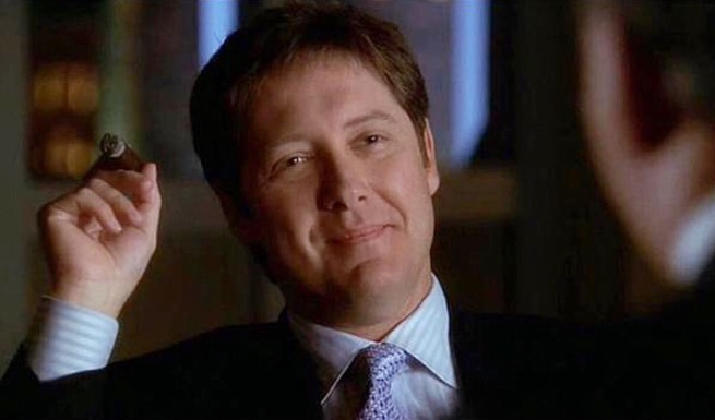 Boston Legal: James Spader as Alan Shore – Amused