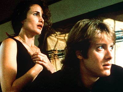 sex, lies and videotape, directed by Steven Soderbergh (1990). Andie MacDowell and James Spader.