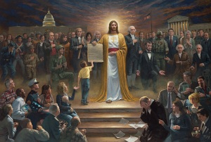 """One Nation, Under God,"" by Jon McNaughton http://bit.ly/1tCMRJH"