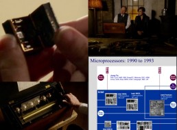 "Sizes & dimensions, Sorrento music boc, tiny box (""the Fulcrum""), 1990s-era microprocessors."