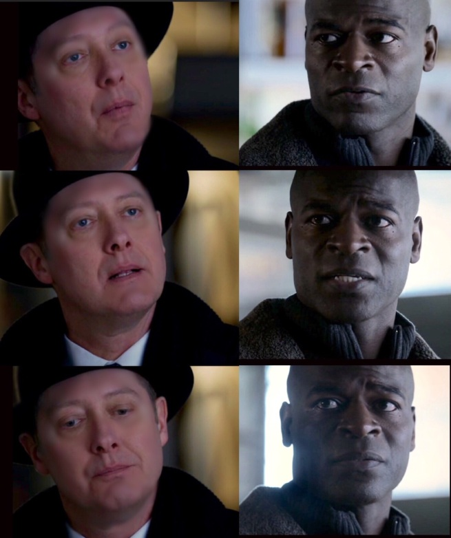 "Dembe: ""You have to tell … about Tom"" Red: ""I don't know how to do that"""