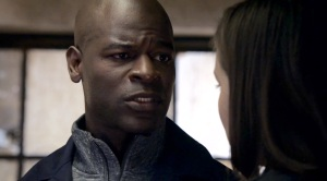 Dembe tells Liz to go to Red's secret flat.