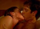 Leslie Stefanson and James Spader in The Stickup
