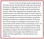 NewRepublic, Mark Lilla (2014): Our Libertarian Age
