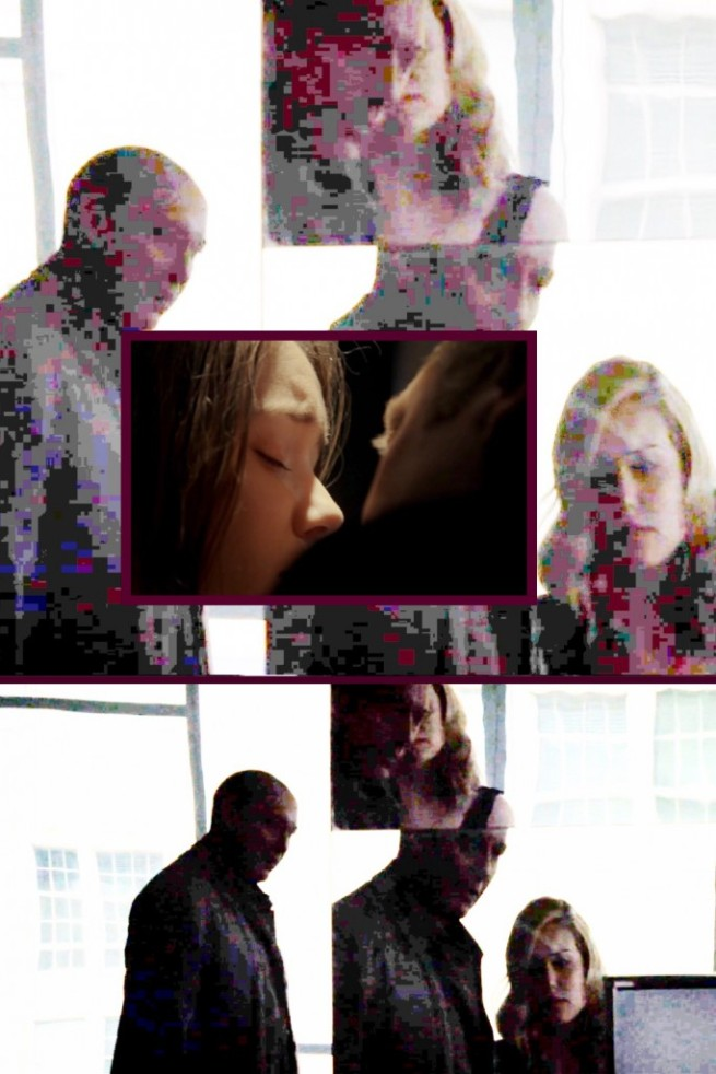 "Image enhancement from ""smoke and mirrors"" scene, with inset from Braxton-2 [2:10] kissing Illusion"