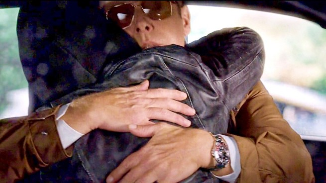 Megan Boone and James Spader in The Blacklist