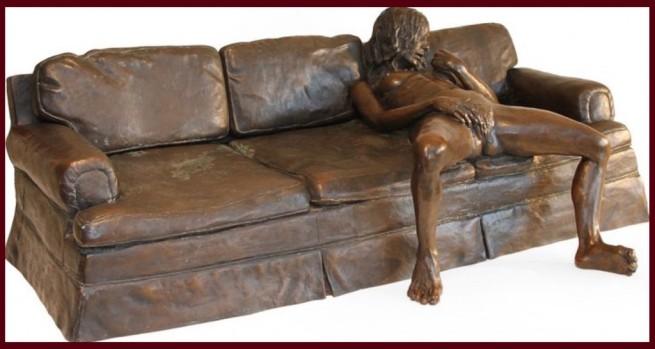 Leslie Stefanson sculpture