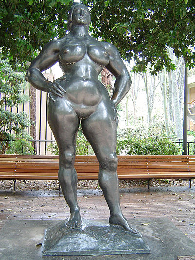 Gaston Lachaise (American (born France) 1882–1935), Standing Woman. See LATimes 2004 interview http://lat.ms/1wxRA3k