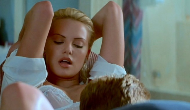 Charlize Theron and James Spader in Two Days in the Valley