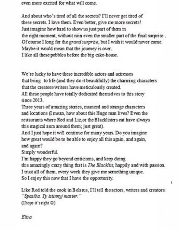 🔴 Scribblings Jan-Mar 2016 | The Blacklist Declassified
