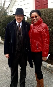 James Spader Update @redslizzie:  James Spader at Zion Episcopal Church! (behind the scenes of The Blacklist)