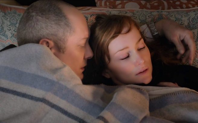 James Spader and Lotte Verbeek [3:19 Cape May]