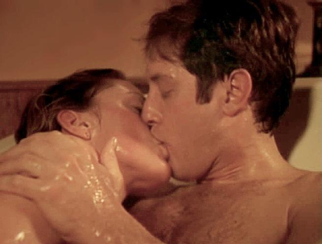 James Spader and Leslie Stefanson in The Stickup