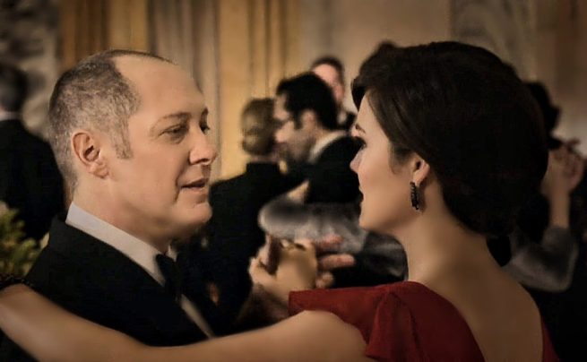 James Spader & Megan Boone, The Blacklist [1:14 Madeline Pratt]